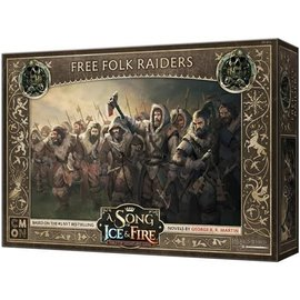 Cool Mini or Not A Song of Ice & Fire: Tabletop Miniatures Game: Free Folk Raiders Unit Box