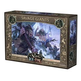 Cool Mini or Not A Song of Ice & Fire: Tabletop Miniatures Game: Savage Giants Unit Box