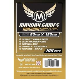 """Mayday Games Mayday Sleeves: """"Dixit"""" Magnum Ultra Fit Card Size (80mm x 120mm) (100 pack)"""