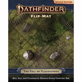 Paizo Pathfinder - Second Edition Flip Mat: The Fall of Plaguestone