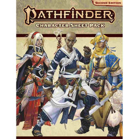 Paizo Pathfinder - Second Edition Character Sheet Pack