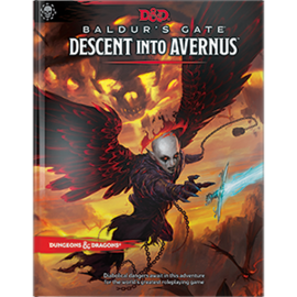 Wizards of the Coast Dungeons and Dragons: Baldur's Gate Descent Into Avernus Standard Cover