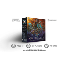 Project Raygun Court of the Dead: Mourner's Call (Kickstarter Edition - Court of Spirit Slipcover Artwork)