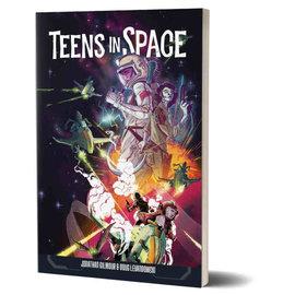 Renegade Teens in Space RPG - Core Rule Book