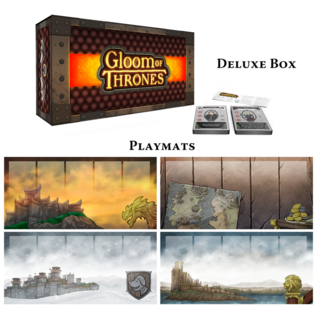 Atlas Games Gloom of Thrones (Deluxe Kickstarter Edition)