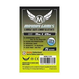 Mayday Games Mayday Sleeves: Large Card Sleeves 70mm x 120mm (75)