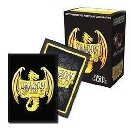 Dragon Shields Dragon Shields: (100) Non-Glare - 20th Anniversary Art Sleeves Matte Black
