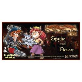 SlugFest Games The Red Dragon Inn: Allies - Spyke vs Flower