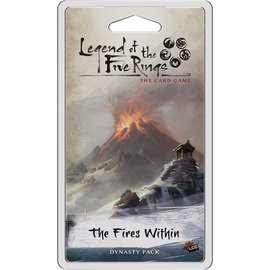 Fantasy Flight L5R LCG: The Fires Within Dynasty Pack