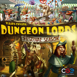Czech Games Dungeon Lords: Festival Season