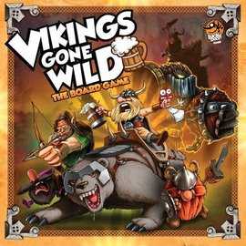 Lucky Duck Games Vikings Gone Wild: The Board Game