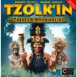 Czech Games Tzolk'in - The Mayan Calendar: Tribes & Prophecies Expansion