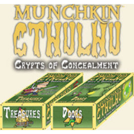 Steve Jackson Games Munchkin Cthulhu: Crypts of Concealment