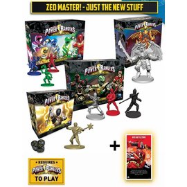 Renegade Power Rangers: Heroes of the Grid Phase 2 - Zeo Master Pledge