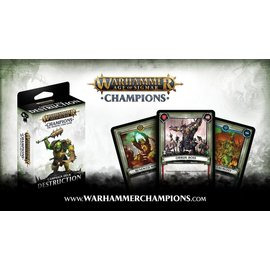 Play Fusion Age of Sigmar Champions - Campaign Deck - Destruction