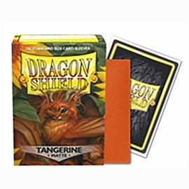Dragon Shields Dragon Shields: (100) Matte Tangerine