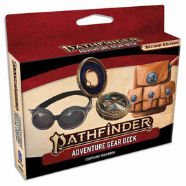 Paizo Pathfinder Second Edition: Adventure Gear Deck