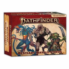 Paizo Pathfinder Second Edition: Bestiary Battle Cards
