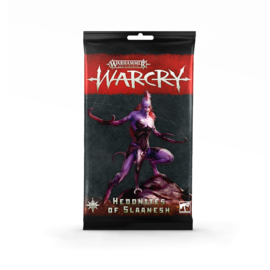 Games Workshop Warcry - Army Cards - Hedonites of Slaanesh