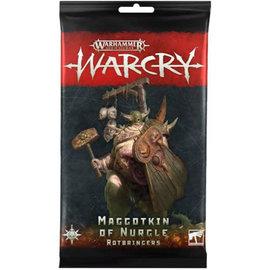 Games Workshop Warcry - Army Cards - Maggotkin of Nurgle Rotbringers