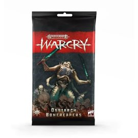 Games Workshop Warcry - Army Cards - Ossiarch Bonereapers