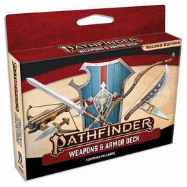 Paizo Pathfinder Second Edition RPG: Weapons and Armor Deck