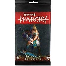 Games Workshop Warcry - Army Cards - Tzeentch Arcanites
