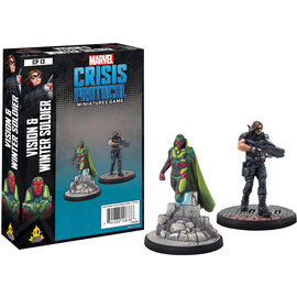 Fantasy Flight Marvel: Crisis Protocol - Vision and Winter Soldier Character Pack