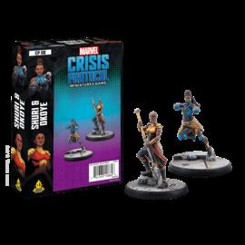 Fantasy Flight Marvel: Crisis Protocol - Shuri and Okoye Character Pack