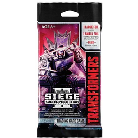 Wizards of the Coast Transformers TCG - War for Cybertron - Siege II Booster Pack