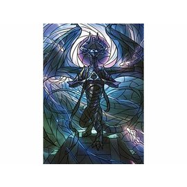 Wizards of the Coast MTG Wall Scroll - Stained Glass - Nicol Bolas