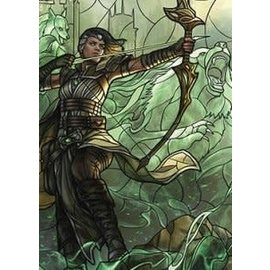 Wizards of the Coast MTG Wall Scroll - Stained Glass - Vivien