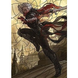 Wizards of the Coast MTG Wall Scroll - Stained Glass - Sorin