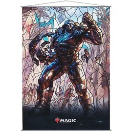Wizards of the Coast MTG Wall Scroll - Stained Glass - Karn