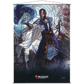 Wizards of the Coast MTG Wall Scroll - Stained Glass - Teferi