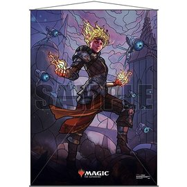 Wizards of the Coast MTG Wall Scroll - Stained Glass - Chandra