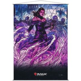 Wizards of the Coast MTG Wall Scroll - Stained Glass - Liliana