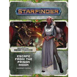 Paizo Starfinder RPG: Adventure Path - Against the Aeon Throne 2- Escape from the Prison Moon