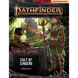 Paizo Pathfinder - Second Edition Adventure Path: Cult of Cinders (Age of Ashes 2 of 6)