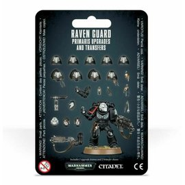 Games Workshop Warhammer 40k: Primaris Upgrades and Transfers Raven Guard