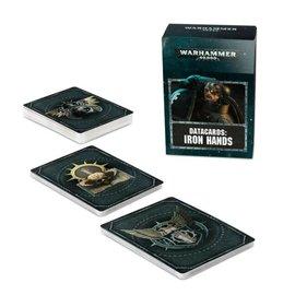 Games Workshop Warhammer 40k: Datacards: Iron Hands