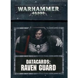Games Workshop Warhammer 40k: Datacards: Raven Guard