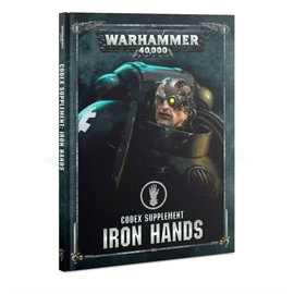 Games Workshop Warhammer 40k: Codex Supplement: Iron Hands