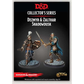 GaleForce Nine Dungeons and Dragons: Collector's Series - Dezmyr & Zalthar Shadowdusk