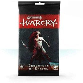 Games Workshop Warcry - Army Cards - Daughters of Khaine