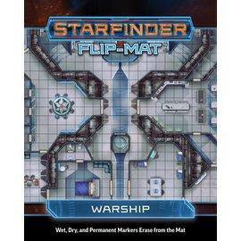 Paizo Starfinder RPG: Flip-Mat - Warship