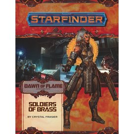 Paizo Starfinder RPG: Adventure Path - Dawn of Flame 2 - Soldiers of Brass
