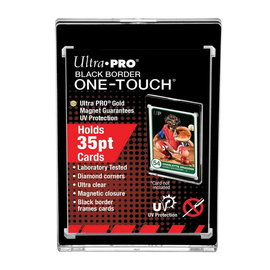Ultra Pro Black Border One-Touch Single Card Case