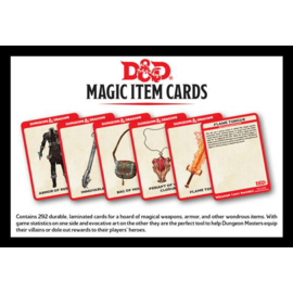 Wizards of the Coast Dungeons and Dragons: Magic Item Cards