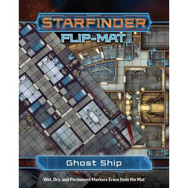 Paizo Starfinder RPG: Flip-Mat - Ghost Ship